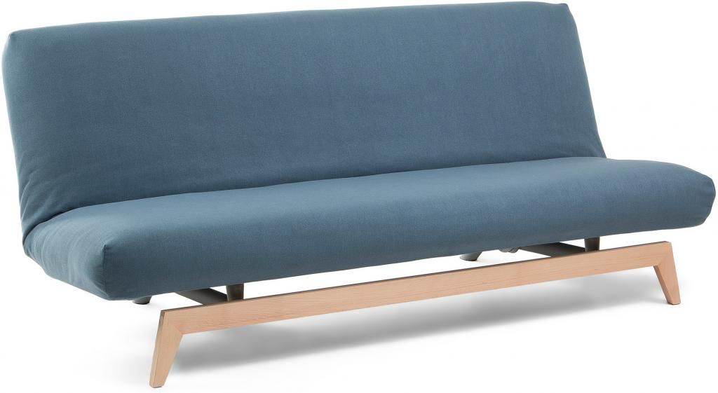 2 Persoonsbed Modern.Bedbank Kiko Blauw 2 Persoons Bed Laforma Lil Nl